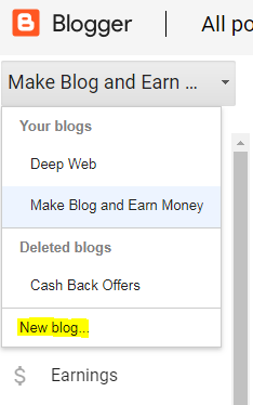 Create a Free Website with Blogger