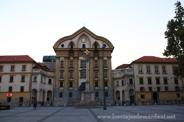 Convento de las Ursulinas y la Iglesia de la Santa Trinidad