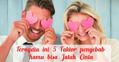 Ternyata ini 5 Faktor penyebab Kamu bisa Jatuh Cinta