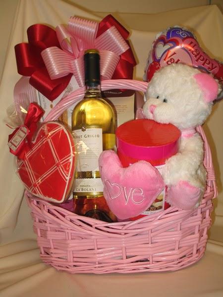 cesta romântica do dia dos namorados