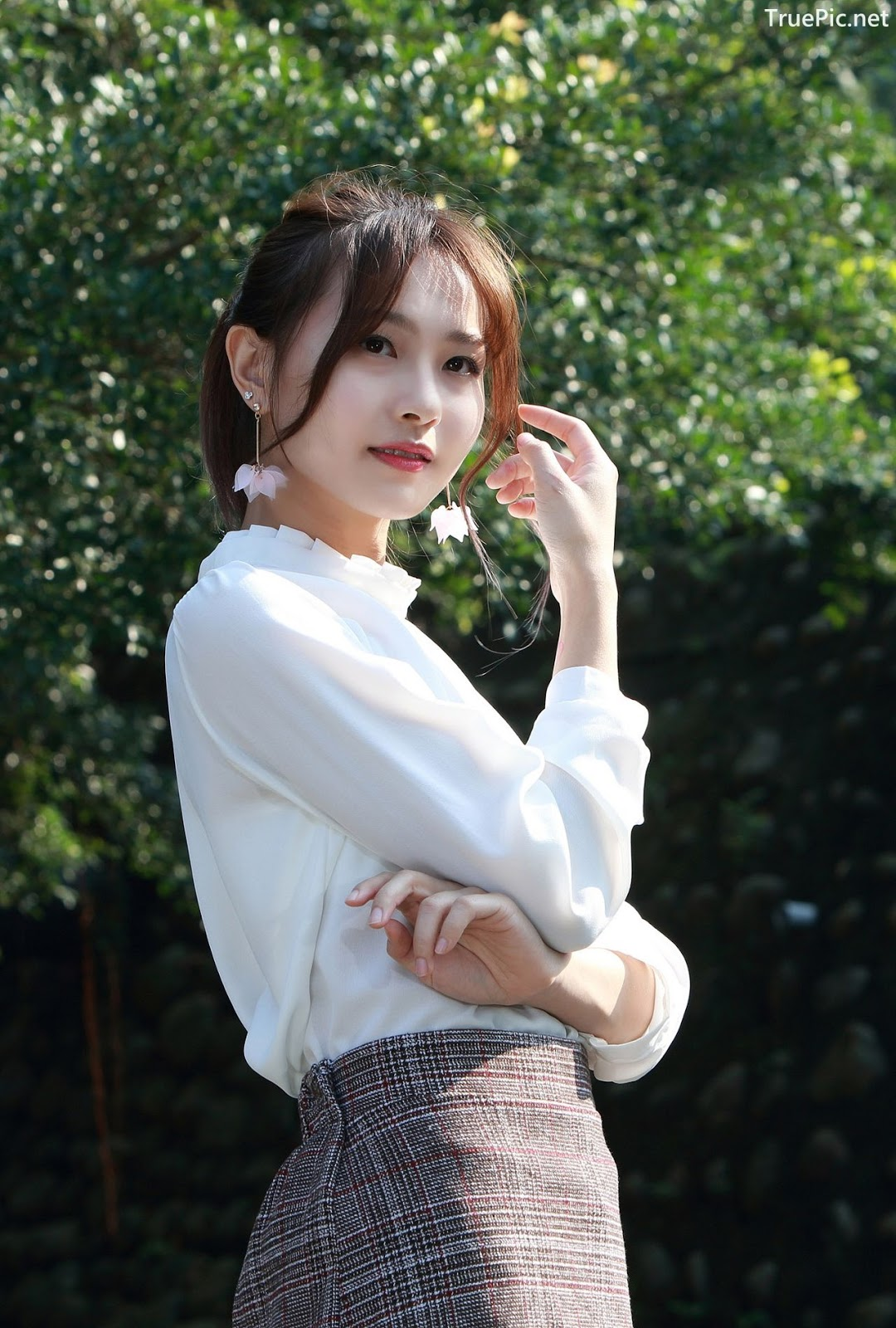 Image-Taiwanese-Model-郭思敏-Pure-And-Gorgeous-Girl-In-Office-Uniform-TruePic.net- Picture-9