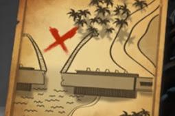 Lokasi Treasure Chest Hari ke 13 Masih Map Bermuda