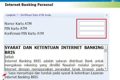 Cara Daftar dan Aktivasi Internet Banking BRI Syariah