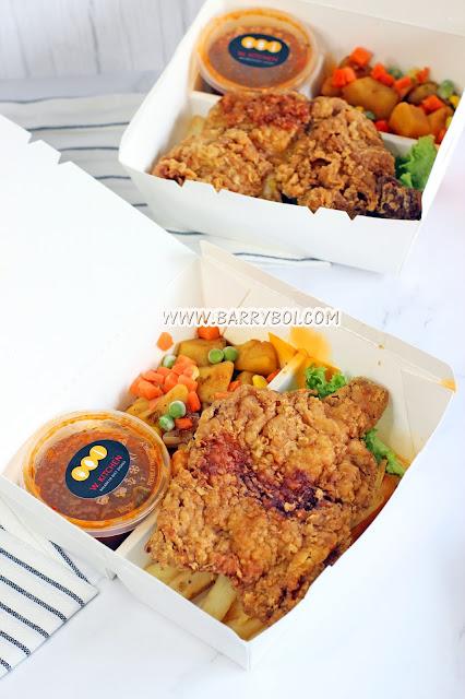 W Kitchen Penang  Delicious Chicken Chop Penang Food Blogger Food KOL Influencer www.barryboi.com