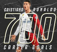 700 goals christian ronoldo