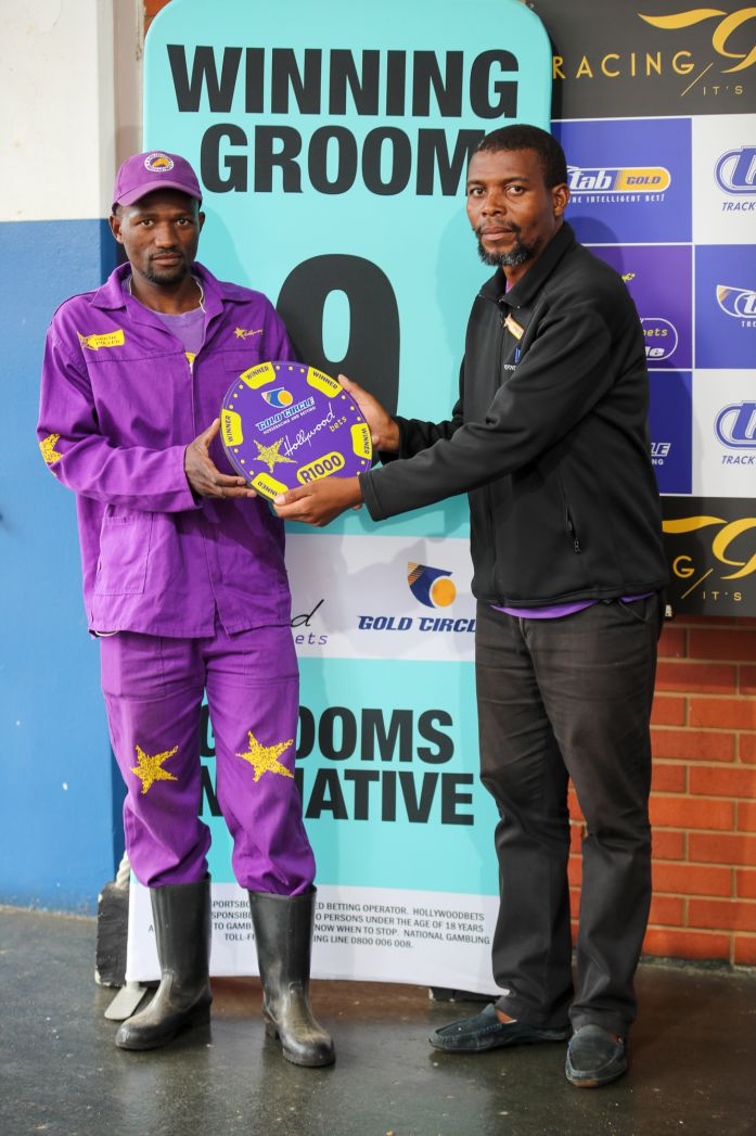 Grooms' Initiative Winners - 19th January 2020 - Hollywoodbets Greyville - Race 1 - Vuyolwethu Mdludlu - MISS CHARLOTTE