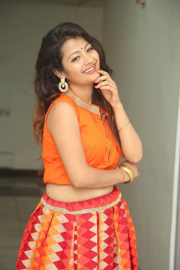 Shubhangi Bant At Dharpanam Movie Launch Event Stills