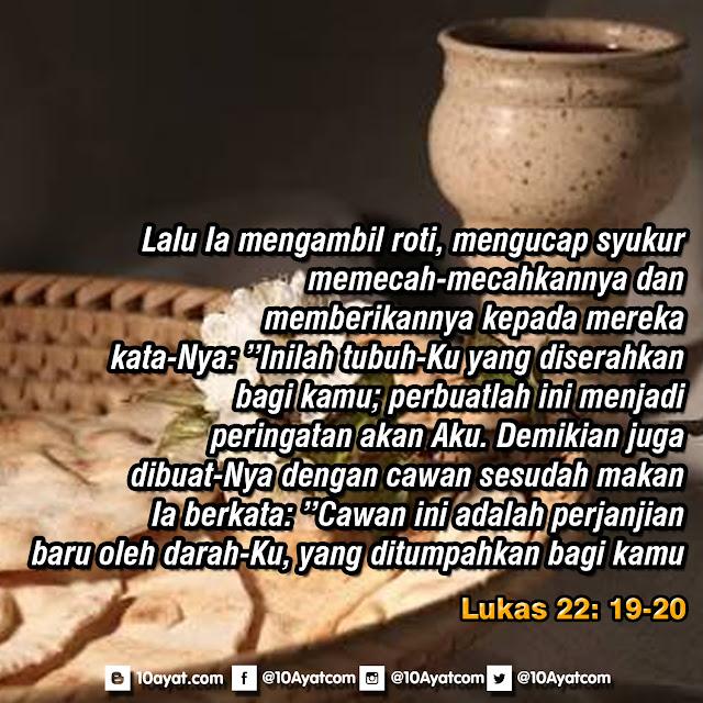 Lukas 22: 19-20