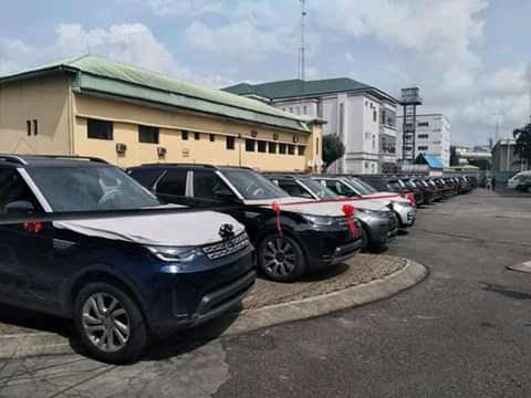 Wike%2Bgives%2B41%2BRange%2BRover%2BSUVs%2Bto%2BRivers%2Bjudges%2B2 - Wike provides 41 Vary Rover SUVs to Rivers judges