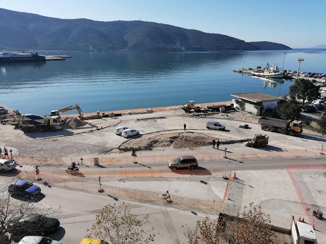 Ήγουμενίτσα: Ο κυκλικός κόμβος στο παλαιό λιμάνι Ηγουμενίτσας καθυστερεί...