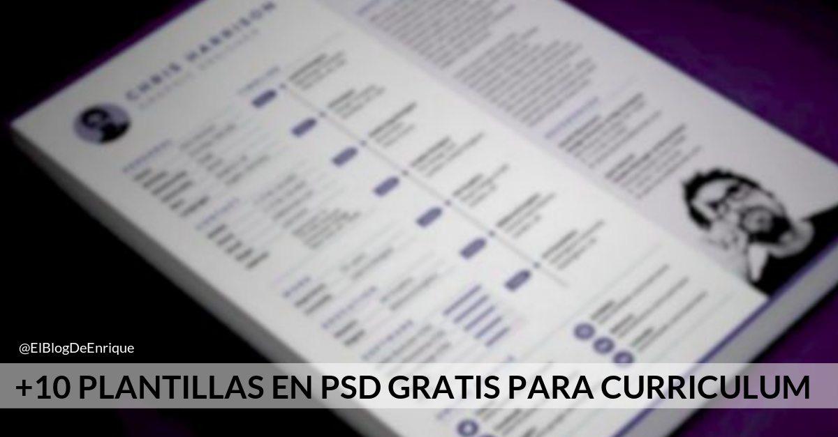 Muckups gratis de curriculum editables en PSD