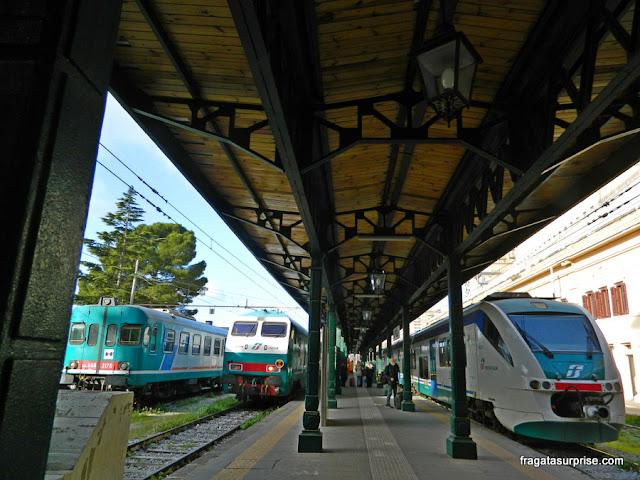 Estação Ferroviária de Agrigento, Sicília