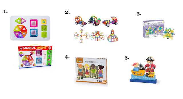 klocki magnetyczne - - jakie klocki dla dziecka - prezent na Mikołajki dla dziecka - hancia.pl - zabawki dla dzieci online