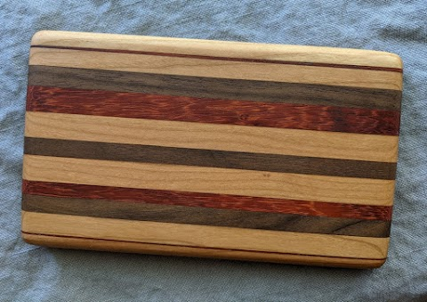 Cherry, Walnut and Padauk Bar Board 1 - $20