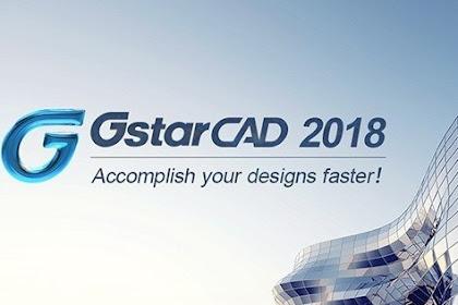 Gstarcad,aplikasi cad ringan dengan menu yang simple