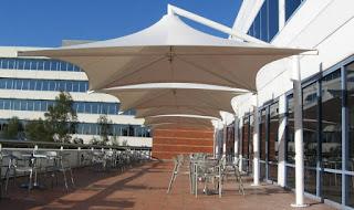 tenda membrane depok untuk resto/cafe