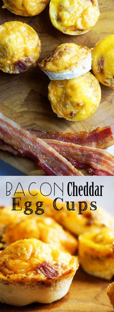 Keto Cheesy Bacon Egg Cups