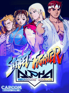 Game Street Fighter Alpha Warriors Dreams java jar