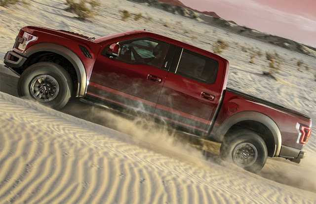 ford-f-150-raptor-red-in-dessert-offroad-wallpaper