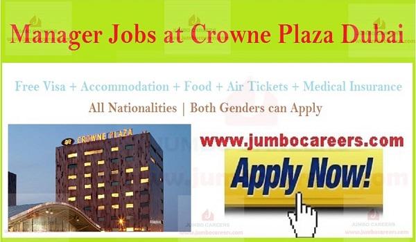 Latest 5 star hotel jobs in UAE, Recent hotel job openings in Dubai,