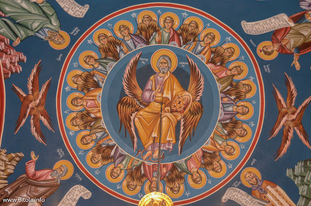 St. Mary church in Bitola, Macedonia - fresco painting