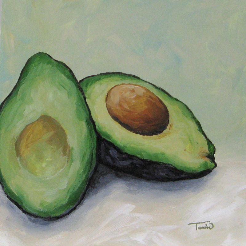 Torrie Smiley, Original Works of Art: Avocado ~ Claybord ...