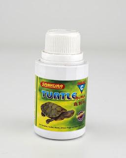 makanan pellet kura-kura Brazil