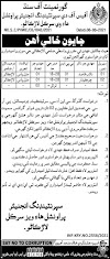 Latest Jobs 2021 | Office of Superintend Engineer Provincial Highways Circle Larkana Jobs 2021