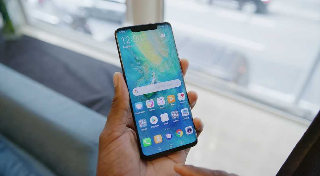 Huawei's Mate 20 Pro Display.