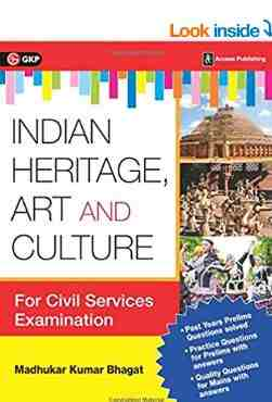 Indian Heritage, Art and Culture book PDF For Civil Service