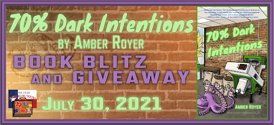 70% Dark Intentions book blog tour promotion banner