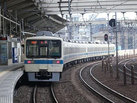 小田急電鉄 各停 各駅停車行き5 8000形