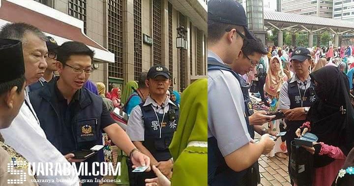 Pakai Cadar, TKW Taiwan Ini Diperiksa Polisi Saat ...