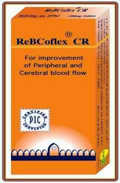 سعر ودواعى إستعمال دواء ريبكوفليكس ReBcoflex لدورة الدموية
