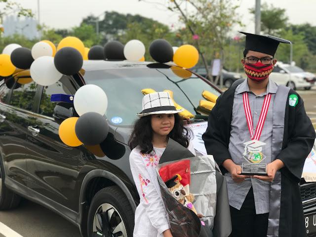 Drive-In Graduation of SMP Islam Tugasku, Jakarta