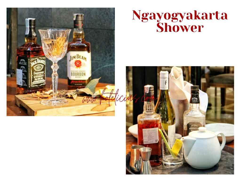 Ngayogyakarta Shower Hyatt Regency Yogyakarta