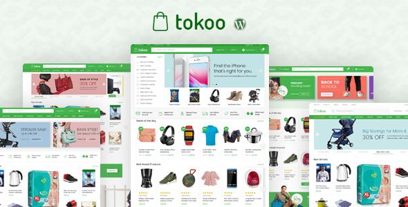 Tokoo v1.1.5 - Electronics Store WooCommerce Theme