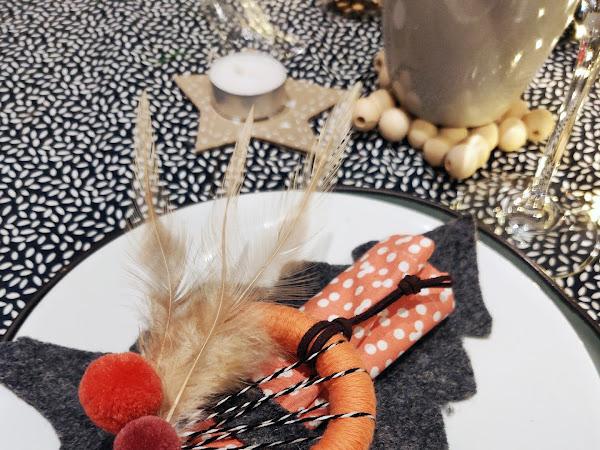 #Tuto Déco : Une serviette de table de noël