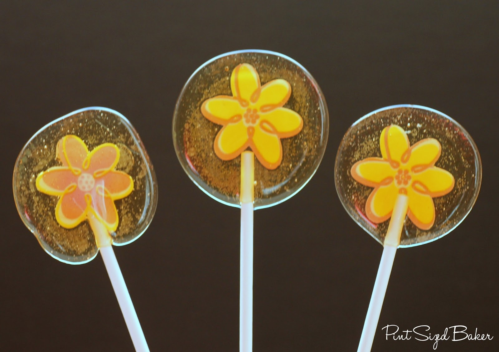 Microwaved Hard Candy Lollipops