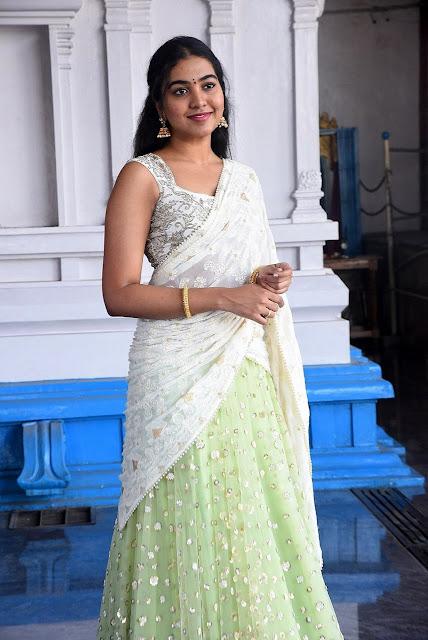 Telugu Film Actress Shivatmika Rajasekhar Latest photos