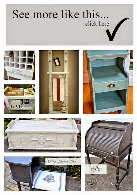 collage of repurposed projects