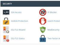 Mengenal Alat – Alat Keamanan di cPanel