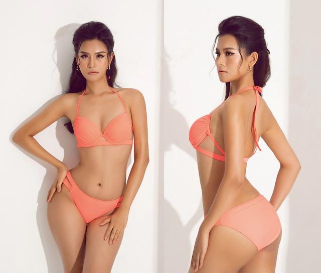 Thái Thị Hoa khoe dáng với bikini trước thềm Hoa hậu Trái Đất 2020