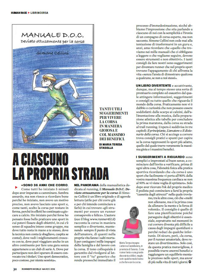 ŕecensione manuale doc runners world