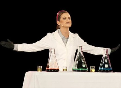 Biochemist crowned Miss America 2020 after onstage performance