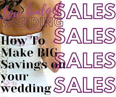 wedding sales