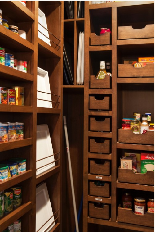 cool kitchen pantry design ideas 12 500x747