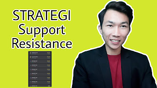 Praktek Trading Profit Menggunakan Strategi Support & Resistance Ahlitech
