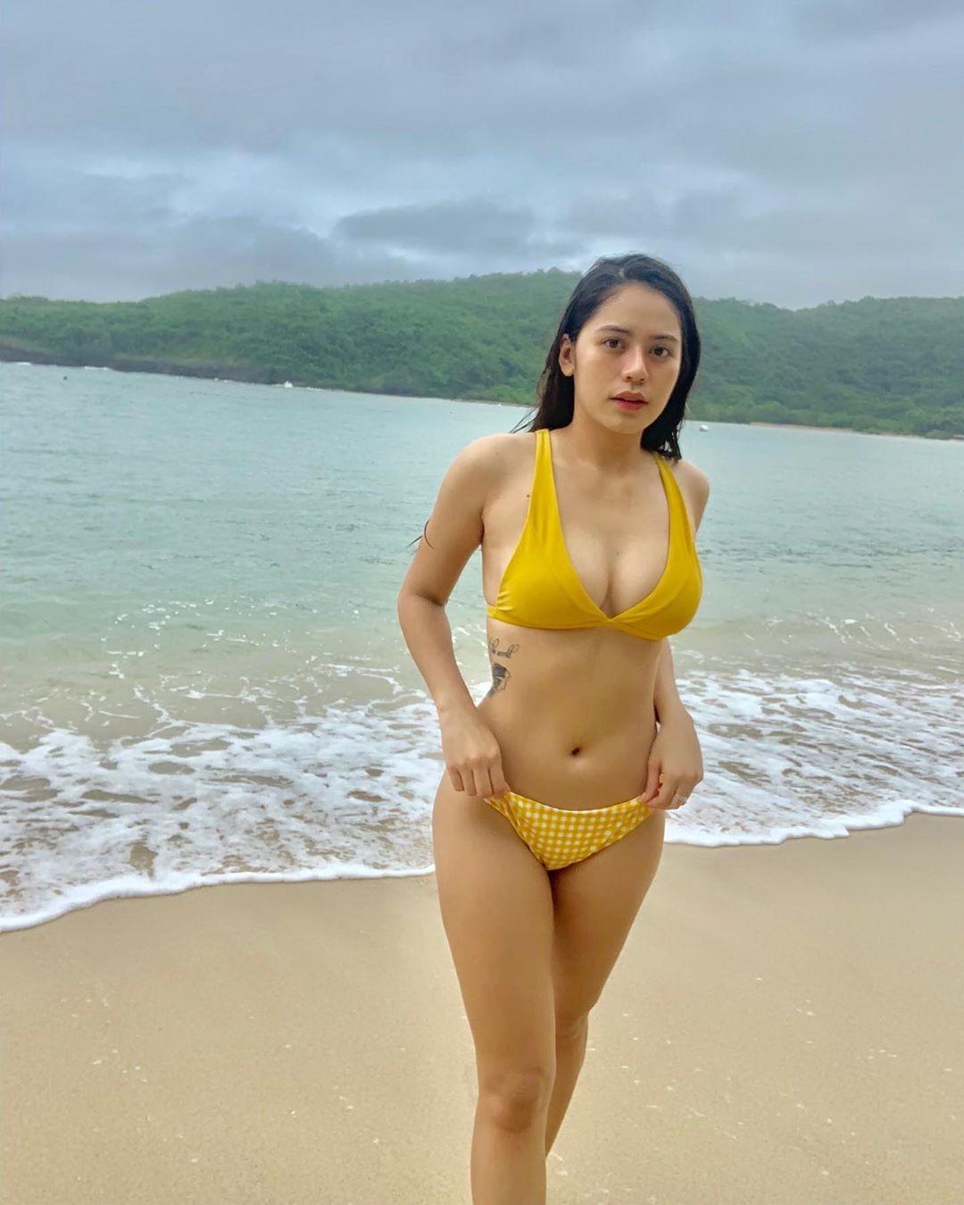 kisha coleen ancheta sexy beach bikini pics 01