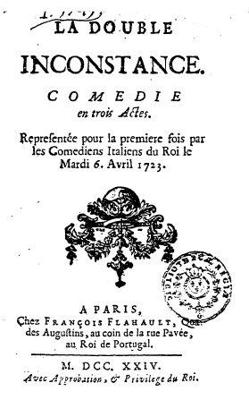 La Double Inconstance, Marivaux